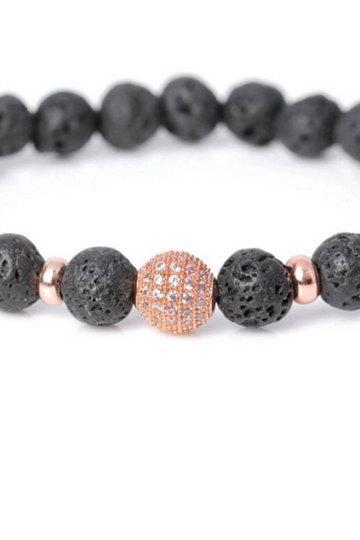 Bracelet for Women, Beaded Bracelet For Women, Lava Beads Bracelet for Her, Jewelry for women